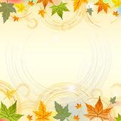 Sfondo autunno con cerchi — Foto Stock