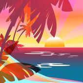 Summer background — Stock Photo