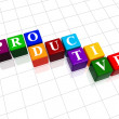 Stock Photo: Productive in colour 2