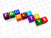 Productive in colour 2 — Stock Photo