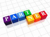 Partner in colour — Stock Photo