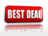 Best deal banner — Stock Photo