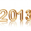 Golden year 2013 — Stock Photo #13352837