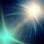 蓝色霓虹灯 — 图库照片