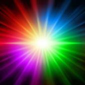Rainbow colorful lights — Stock Photo