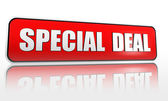 Special deal banner — Stock Photo
