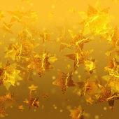 блестящие золотые звезды — Стоковое фото