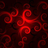 Red and black spirals — Stock Photo