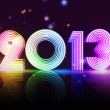 Year 2013 in colored figures — Stock Photo #14920675