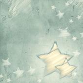 Fondo gris abstracto con las estrellas — Foto de Stock