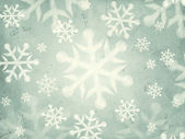Abstract grey background with snowflakes — Stock Photo