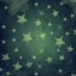 Abstract dark blue background with stars — Stock Photo #16577025