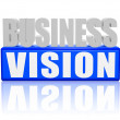 visione di business — Foto Stock