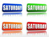 Sábado — Fotografia Stock