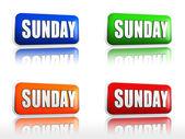 Sunday — Stockfoto