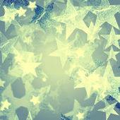 Vintage stars background — Stock Photo