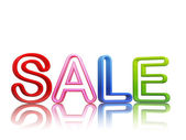 Colorful sale — Stock Photo