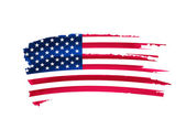 USA flag drawing — Stock fotografie