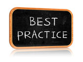 Best practice — Stock Photo