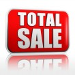 Stock Photo: Total sale