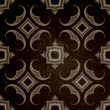 Vintage dark oriental kaleidoscope background — Stock Photo
