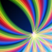 Multicolored rainbow lines — Stock Photo