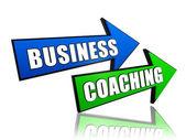 矢印のビジネスコーチング — ストック写真