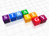 Strateji renkli 2 — Stok fotoğraf