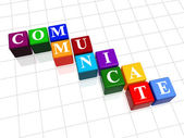 Communicate in colour 2 — Stock Photo