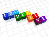 Productive in colour — Stock Photo