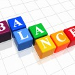 Balance in colour 2 — Stock Photo