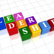 Stock Photo: Leadership in colour 2
