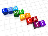 Communicate in colour — Stock Photo