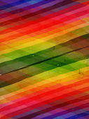 Retro background with motley rainbow rhombuses — Stock Photo