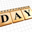 Golden independence day — Stock Photo #25987719
