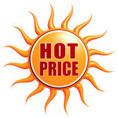 Hot Price — Stock Photo