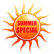 Summer Special — Stock Photo