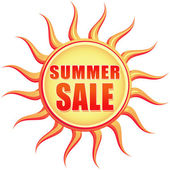 Vintage summer sale — Stock Photo