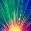 colorful rays — Stock Photo