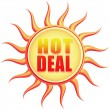 Stock Photo: Hot deal
