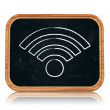 Wi-Fi sign — Stock Photo