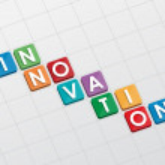 Innovation, flat design — Stock Photo #45603881
