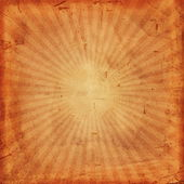 Vintage background with rays — Zdjęcie stockowe