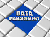 Data management in boxes — Stock Photo