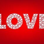 Word Love — Stock Vector