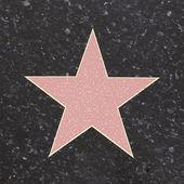 Estrella de la fama — Vector de stock