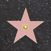 Walk of fame stern — Stockvektor