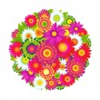 Color Flowers — Stock Vector #30823723