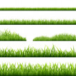 Grass Borders — Stock Vector #39907871