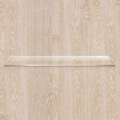 Wooden Board With Glass Shelf — Vecteur